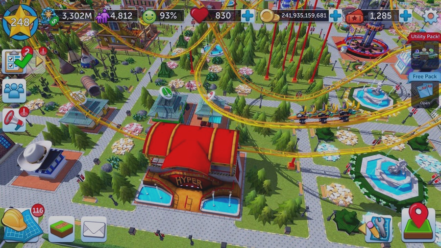 Скриншот RollerCoaster Tycoon Touch