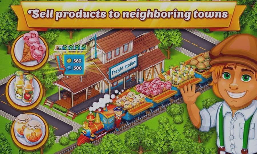 Скриншот Megapolis Сity:Village to Town