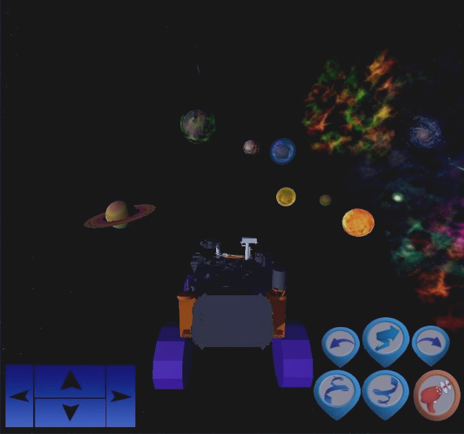 Скриншот Galactic adventure: star rover