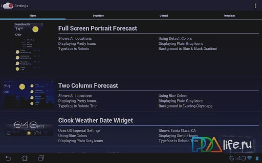 Скриншот Recast Weather and Widgets