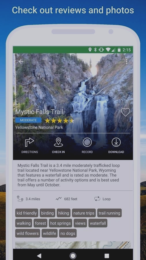 Скриншот AllTrails - Hiking, Trail Running & Biking Trails