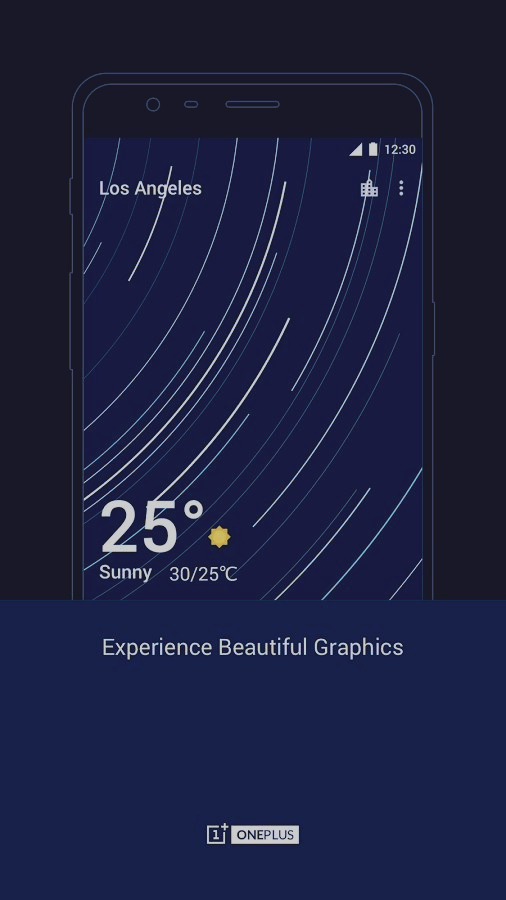 Скриншот OnePlus Weather