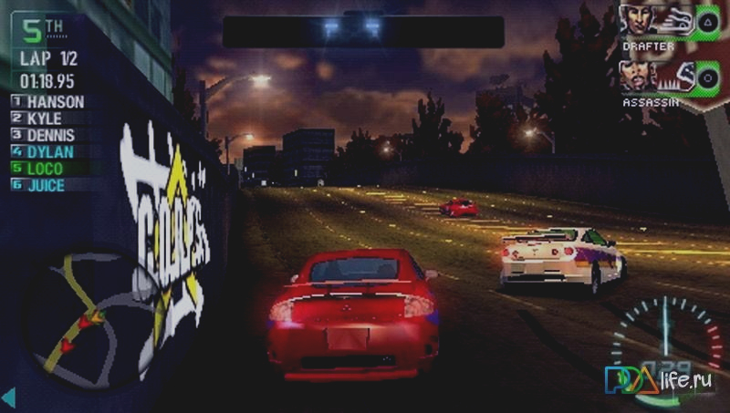 Скриншот Need for Speed Carbon: Own the City