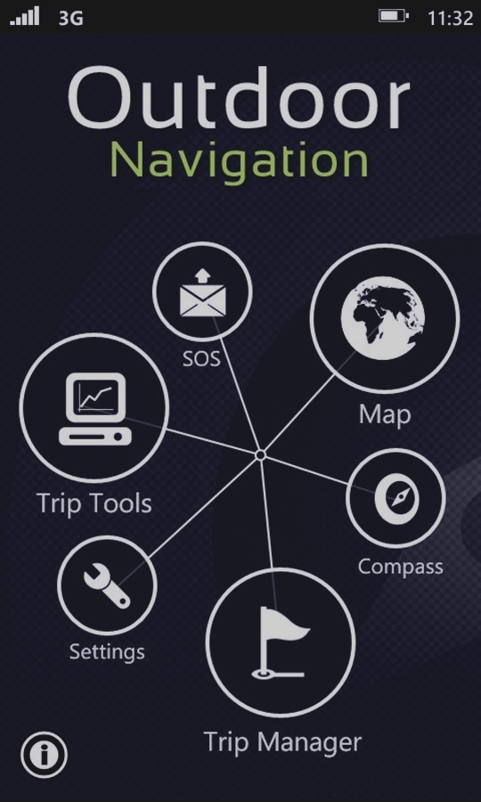 Скриншот Outdoor Navigation